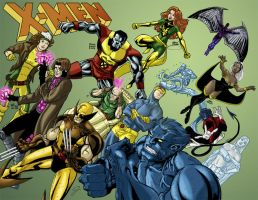 X-Men Jam by Blaw81