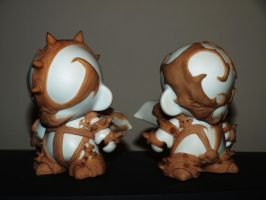 Custom redeemer Spawn 4' Munny WIP by VILORIA-ARTS