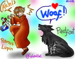 Padfoot Bad Dog XD by cyberhell
