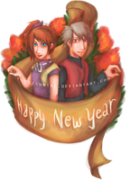 Happy New Year by TopazShrine