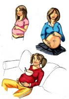 Randoms Pregnant-ness by thew40