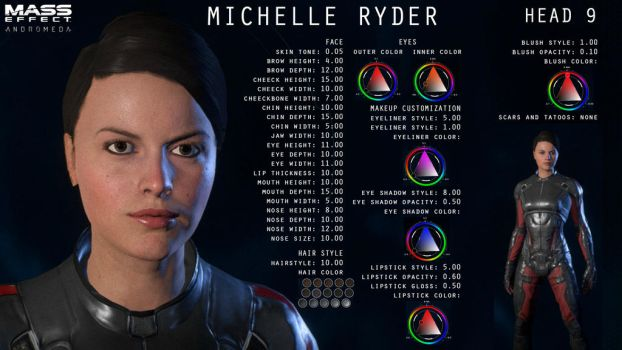 Tutorial - how to create beautiful female Ryder by GothicGamerXIV
