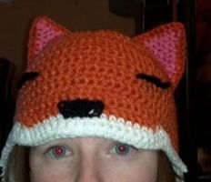 Fox hat by TinyHatter