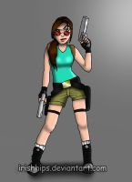 Lara Croft: The Modern Twist by Irishhips