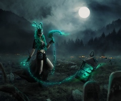 Thresh cosplay edit // League of legends by msriotte