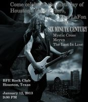 Six Minute Century - Show Flier by VampiressOfMetal