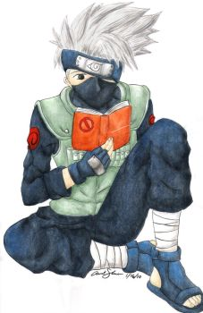Kakashi of the Shadow Mirror by Xiaomei23