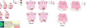Character Builder-Chansey by Kphoria