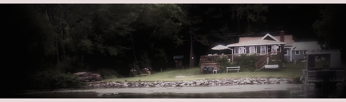 Cottage on the lake by Shannon-K