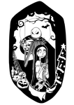 Jack and Sally by DeviouslyMoo