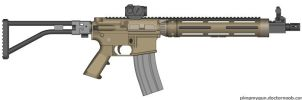 AAC Honey Badger by WolfSniper727