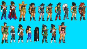 Dragonball 1000 Years ago by 9TS