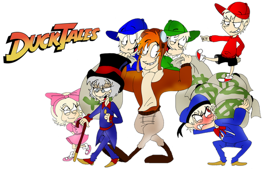 Duck Tales by vaness96