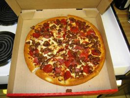 Meat Lovers Pan Pizza by BigMac1212