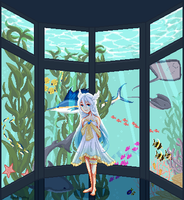 Underwater View by AlphaKathy