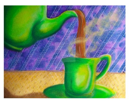 TEATIME MIXED MEDIA 3 by SCT-GRAPHICS
