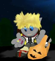 Even Roxas loves candy by mordrelupis