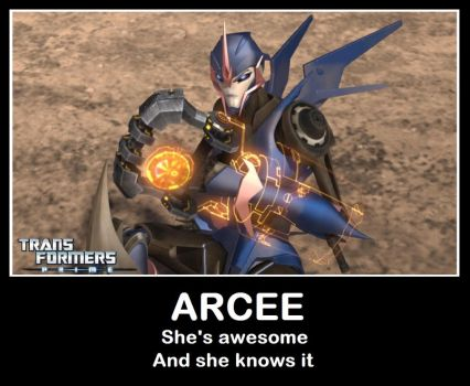 Arcee: Awesome by mightwork15