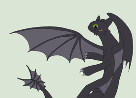 HTTYD Base 20~Nightfury 18~ by Xbox-DS-Gameboy