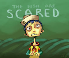 Fish Boy by exploding-cheese
