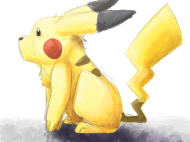 Pikachu by RainbowOnHigh