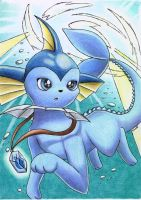 Vaporeon Underwater by Togechu