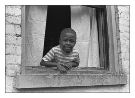 Boy In window.img316, with story by harrietsfriend