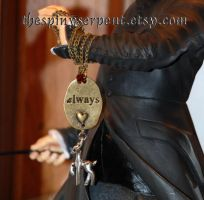 After All This Time? Always - Snapely necklace by kittykat01