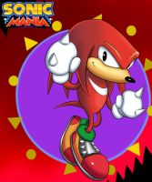 SONIC MANIA: KNUCKLES by JamoArt