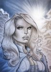 EMMA FROST COMMISSION 2012 by barfast
