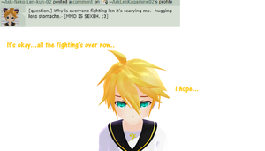 Question 237 by AskLenKagamine02