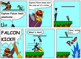 Falcon the dork by Kurvos