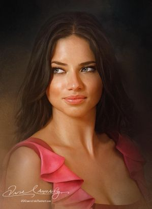 Pretty Face P2- Adriana Lima by Amro0