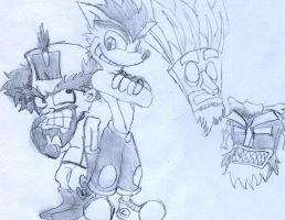 Crash and Cortex by Yuktopus