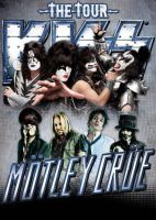 MOtley Crue and KISS on tour! by Durah