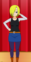 DBZ: Kisekae 2- Android 18 by Knuxamyloverfan