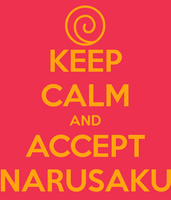 Keep Calm And Accept NaruSaku by juanito316ss
