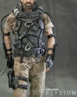 ''Elysium'' KRUGER Custom Figure Preview by Sheridan-J