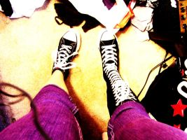 Different Converse by Photocentric-grl