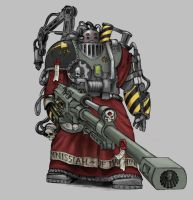 Mechanus Secutor by Zuthuzu