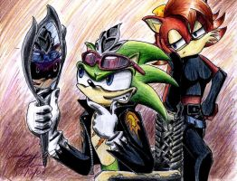 Scourge and Fiona by wolf-requiem