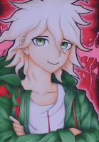 Super High-School Level Good Luck: Komaeda Nagito by FullPurpleMoon