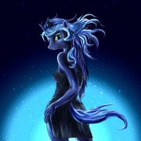 Princess Luna by DLowell