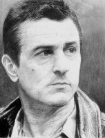 Robert de Niro Portrait by skeroro