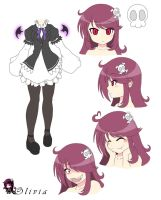 Olivia Character Design by Shadow443