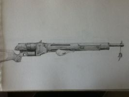 Weapon Design - Sniper Rifle 2 by Amir-Roo