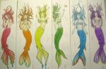 Mermaids by PirateCaptainJess