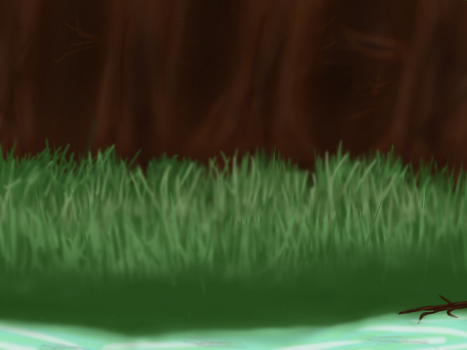 Landscape - Grassy Forest by CrystalPastelKitty