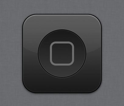 Home Button - flurry style by Lukeedee