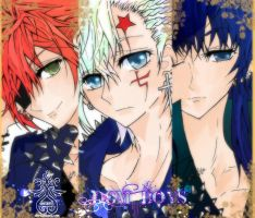 DGM_ Boys by she-be